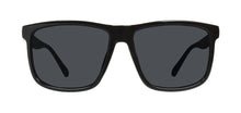 Load image into Gallery viewer, Locs 91055 Black Sunglasses | Face View