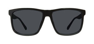 Locs 91055 Black Sunglasses | Face View