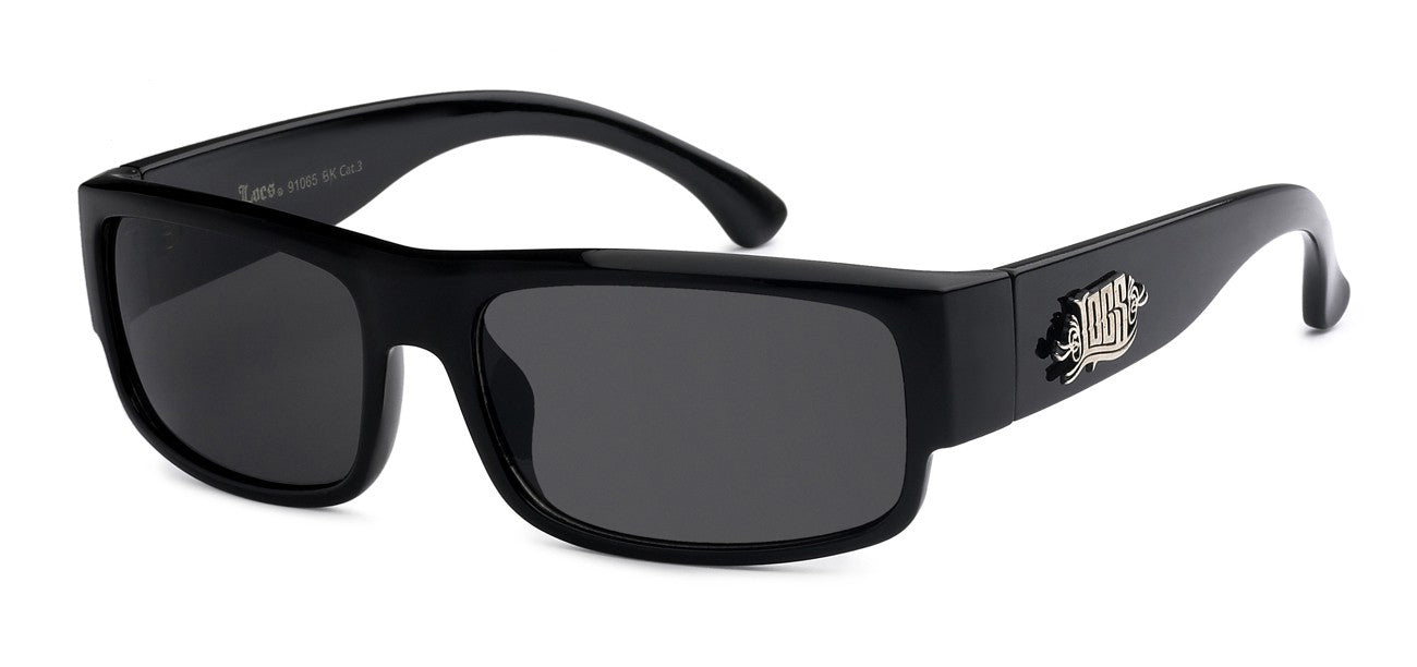 Locs 91065 Black | Gangster Sunglasses