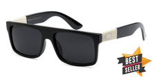 Load image into Gallery viewer, Locs 91075 Black Sunglasses | Best Seller