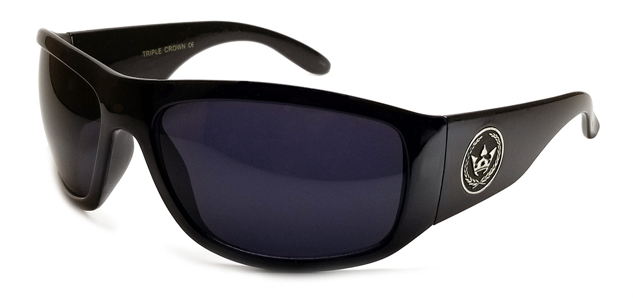 Triple Crown Mr. B Black Sunglasses | Main View