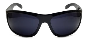Triple Crown Mr. B Black Sunglasses | Front View
