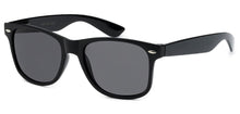 Load image into Gallery viewer, Wayfarer Black Sunglasses | Classic Sunglasses