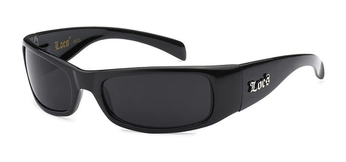 Locs 9005 Black | Gangster Sunglasses