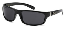 Load image into Gallery viewer, Locs 9025 Black | Gangster Sunglasses