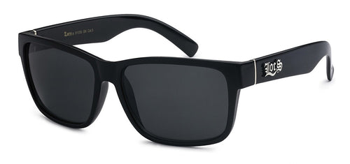 Locs 91070 Black | Gangster Sunglasses