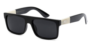 Locs 91075 Black | Gangster Sunglasses