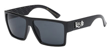 Load image into Gallery viewer, Locs 91105 Black | Gangster Sunglasses