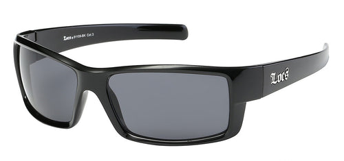 Locs 91108 Black | Gangster Sunglasses
