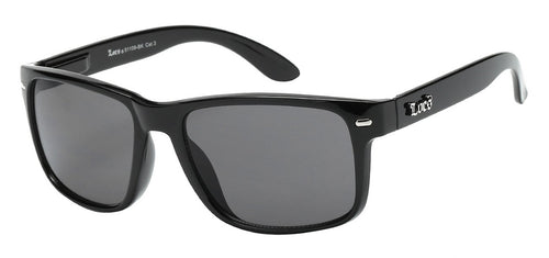 Locs 91109 Black | Gangster Sunglasses