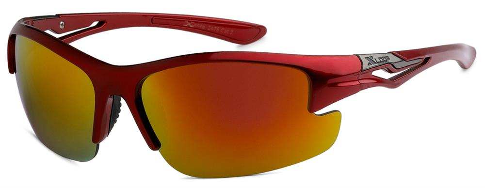 XLoop 2475 Red Revo | Sport Sunglasses