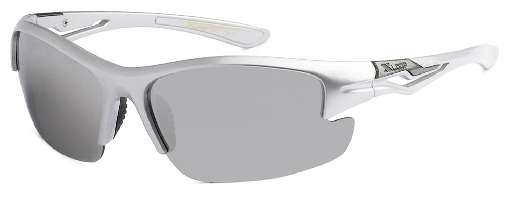 XLoop 2475 Silver Mirror | Sport Sunglasses