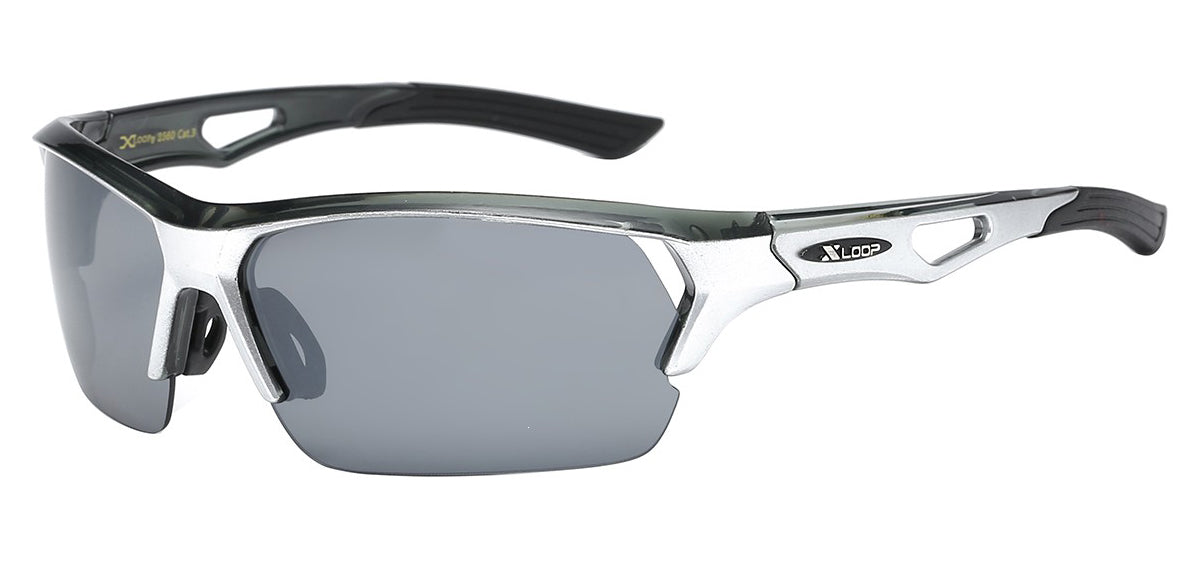 XLoop 2560 Silver | Sport Sunglasses