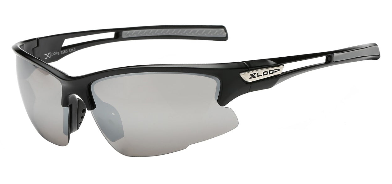 XLoop 2585 Black Mirror | Sport Sunglasses