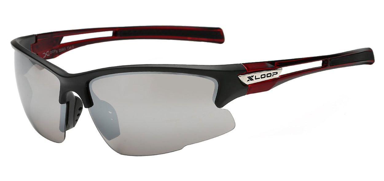 XLoop 2585 Blood Mirror | Sport Sunglasses