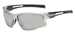 XLoop 2585 Silver Mirror | Sport Sunglasses