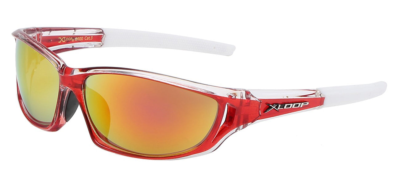 XLoop 2600 Red Clear | Sport Sunglasses