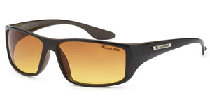 XLoop 3306 Black Brown HD+ | Sport Sunglasses