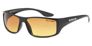 XLoop 3306 Black HD+ | Sport Sunglasses