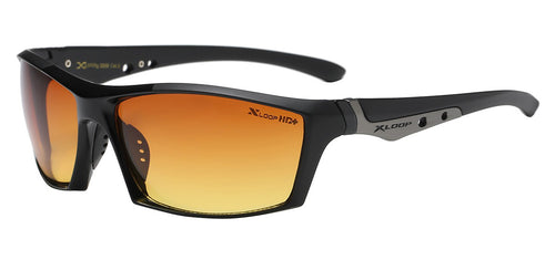 XLoop 3359 Black-Matte HD+ | Sport Sunglasses