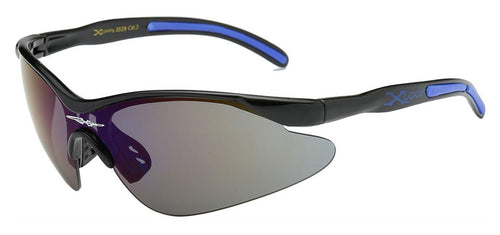 XLoop 3529 Black Blue | Sport Sunglasses