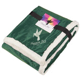 Field & Co. Sherpa Blanket w/Full Color Card