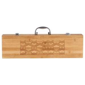 Grill Master 3pc Bamboo BBQ Set