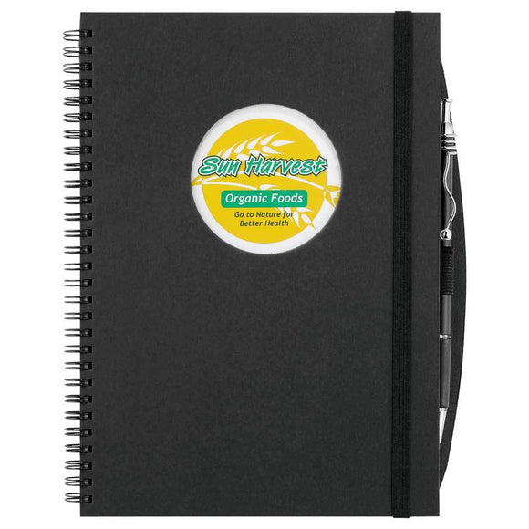 Frame Circle Large Hardcover Spiral JournalBook™
