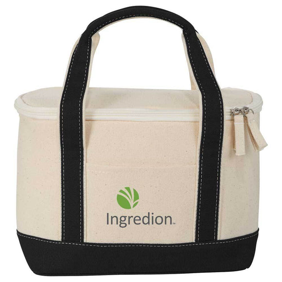 Cotton Canvas Lunch Cooler