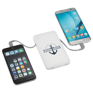 Spectro Power Bank w/ Integrated MFi 2-in-1 Cable