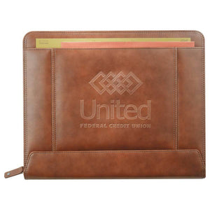 Cutter & Buck® Legacy Zippered Padfolio