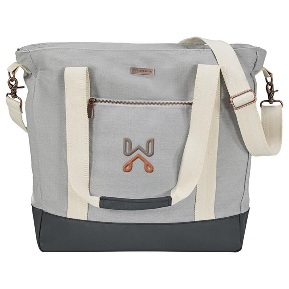 Cutter & Buck® Cotton Computer Tote