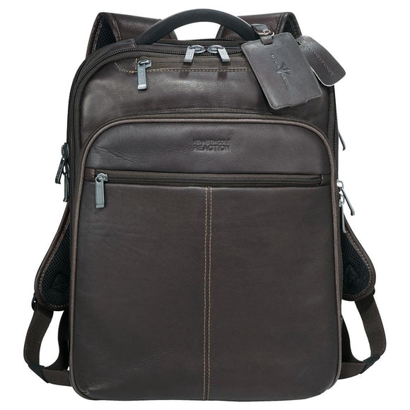 Kenneth Cole® Colombian Leather TSA Compu-Backpack