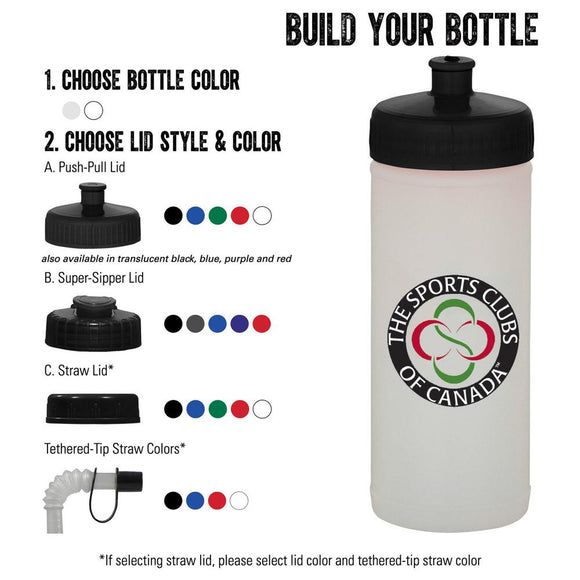 Classic Squeeze 16oz Nat/Wh Sport Bottle