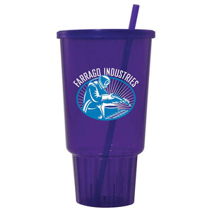 Jewel 32oz Car Cup w/ Lid & Straw