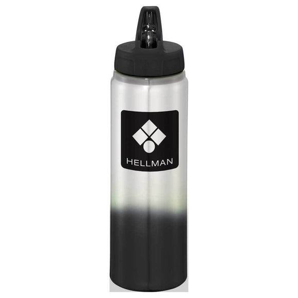 Gradient 25oz Aluminum Sports Bottle