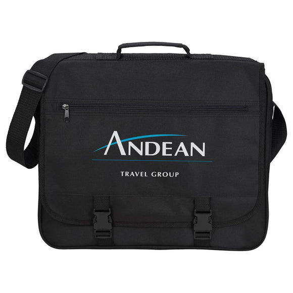 Anchorage Double Clip Messenger Bag