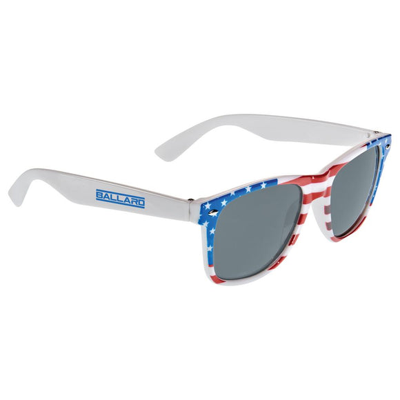 American Flag Sun Ray Sunglasses