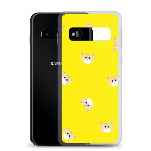Ginger Cat Samsung Case (Yellow)