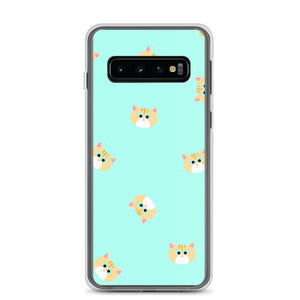 Ginger Cat Samsung Case (Mint)