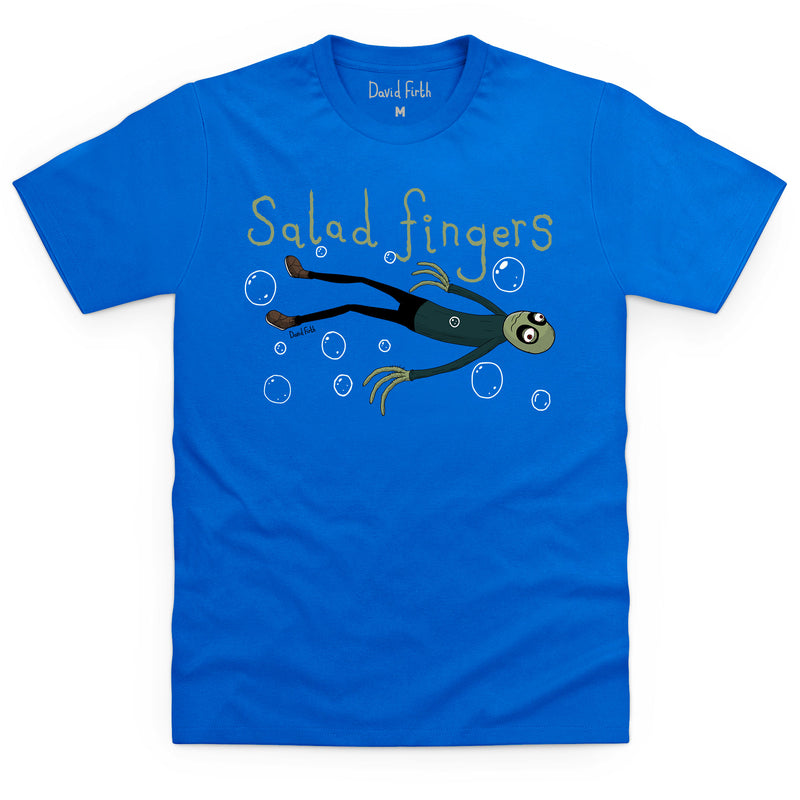 3c8c48131990 Salad Fingers Hubert Cumberdale T Shirt. Regular price £18.00 £18.00 ·  Style: Male, Color: Royal blue.