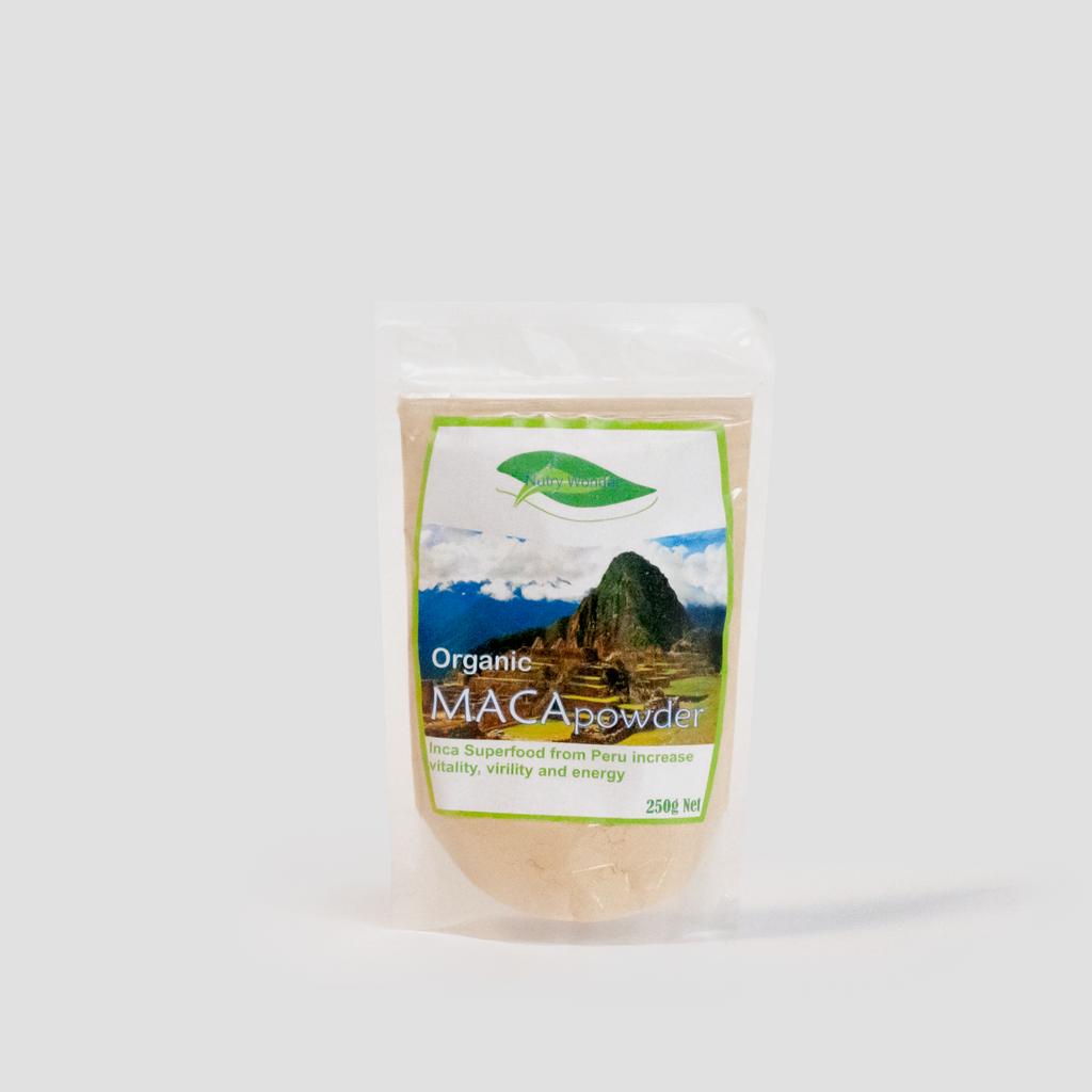Organic Maca Powder 250g Nutry Wonder