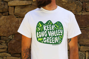 Unisex Keep Long Valley Green Tee