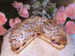 Cherry Crumb German Cheesecake