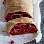 Traditional German Cherry Strudel