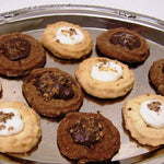 Oma Gisi's Chocolate & Vanilla Spritz Cookies (Box of 24)