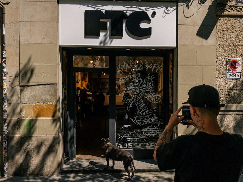 Alehsy x Snack Skateboards at FTC Barcelona