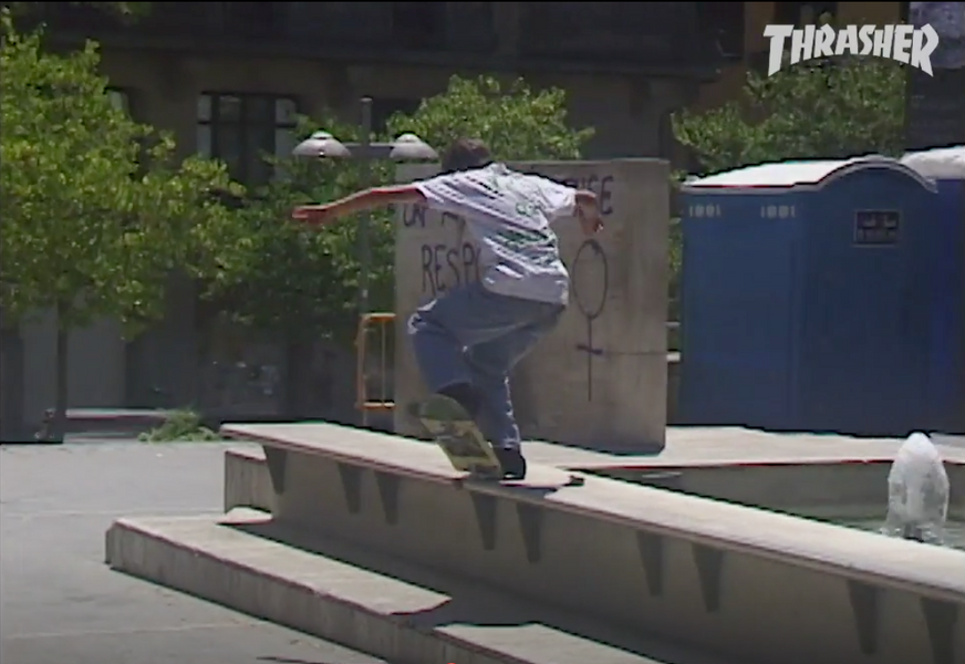 Thrasher Rough Cut: Gronze in Barcelona