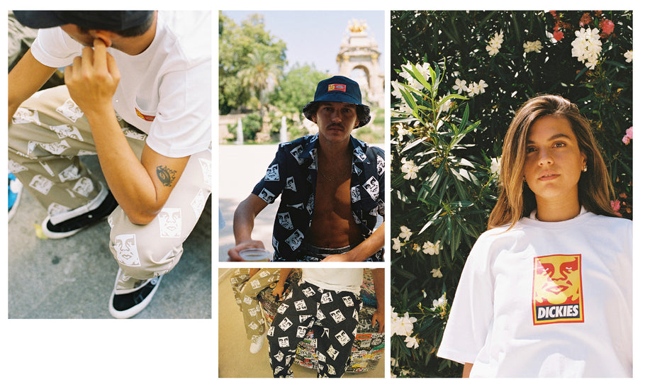 Obey x Dickies in FTC Barcelona