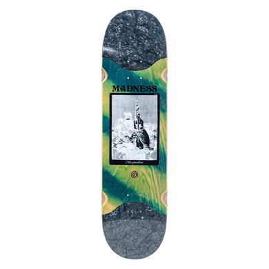 Madness - Remedio Perelson Green 8.375 rip slick R7 Skateboard Deck